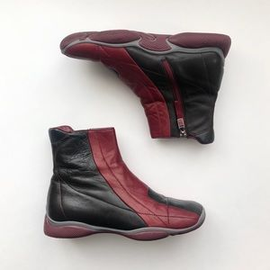 Prada Panel Ankle Boots